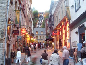 Petit Champlain Quebec City