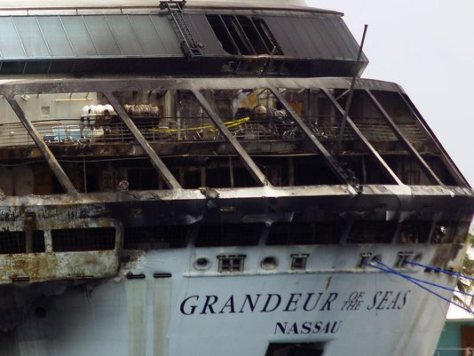 Grandeur of the Seas Fire