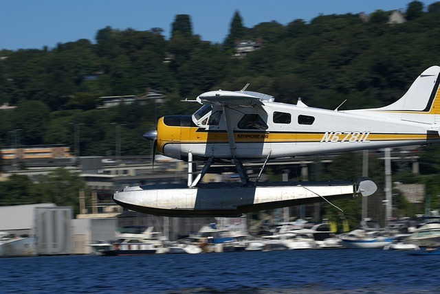 kenmore air float plane