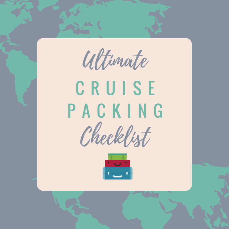 The Ultimate Cruise Ship Packing Checklist