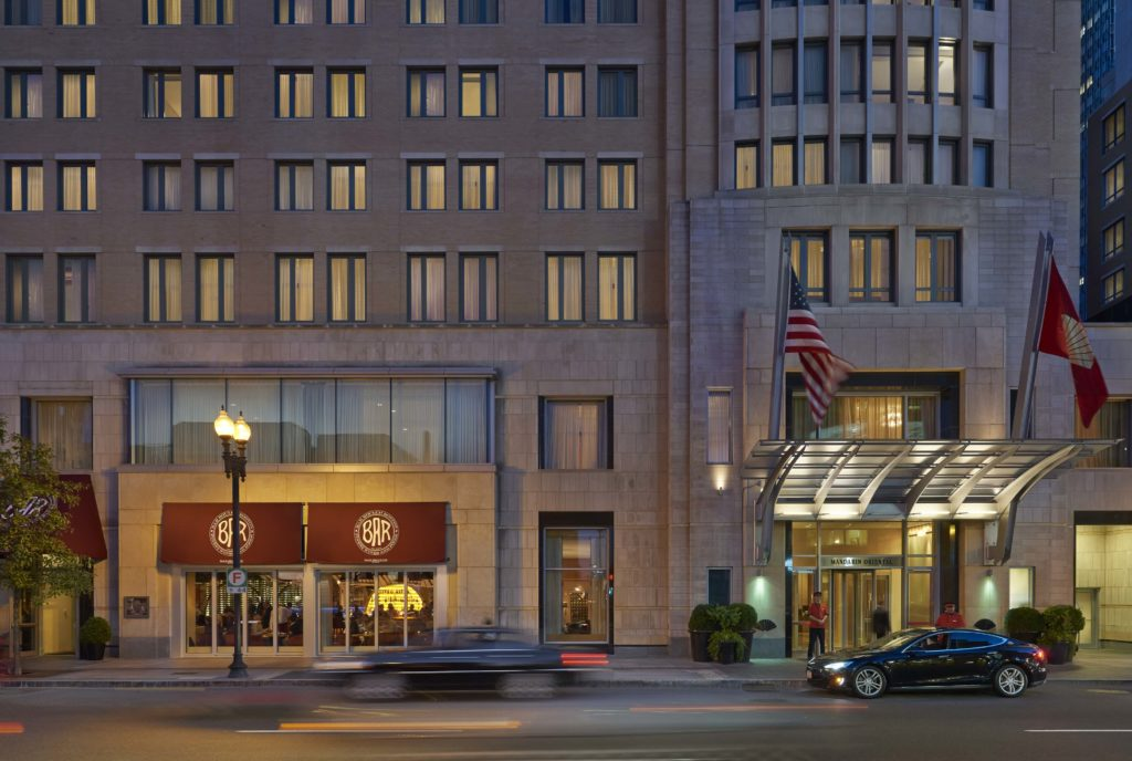 Top 10 Boston Hotels - Mandarin Oriental Boston